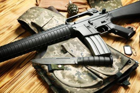 modern Military equipment