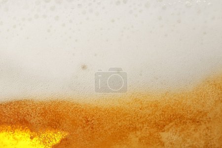 Light beer bubbles