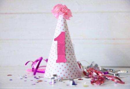 Birthday party cap