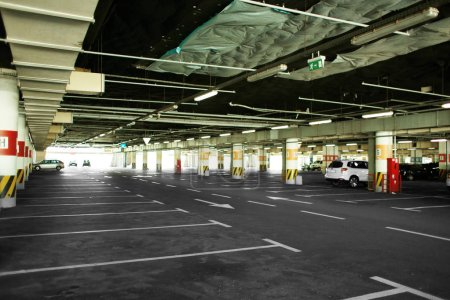 Underground auto parking
