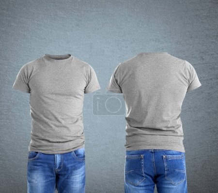 Different views of male t-shirts