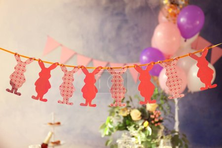 Beautiful Easter garland
