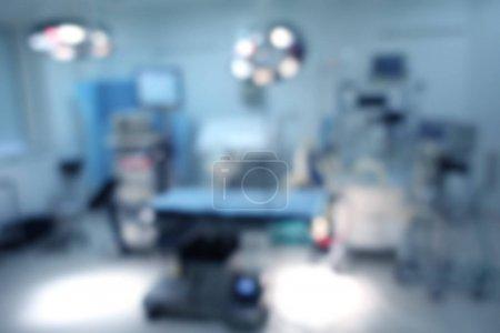 Photo pour Arrière-plan flou de l'intérieur de la clinique moderne - image libre de droit