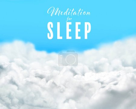 Concept of music for sleep and meditation
