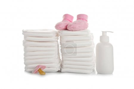 Baby diapers and necessities