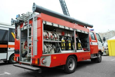 Special fire-fighting vehicle