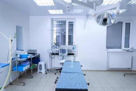 Interior of operating room
