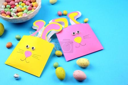 Funny bags and colourful candies