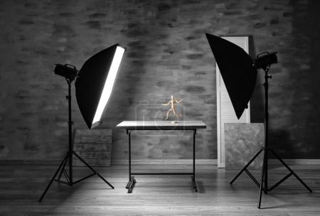Modern photography studio