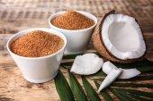 Misky z kokosového cukru