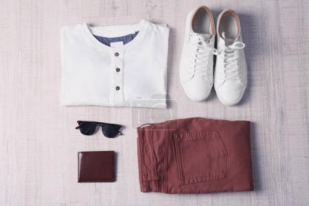 Stylish male clothing set