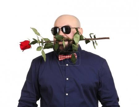 Bearded fat man