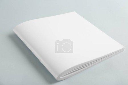 Blank business brochure