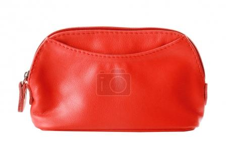 Red Cosmetic bag