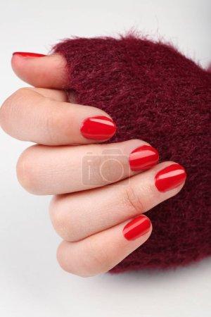 Nail art concept.