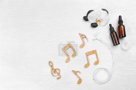 Spa music concept