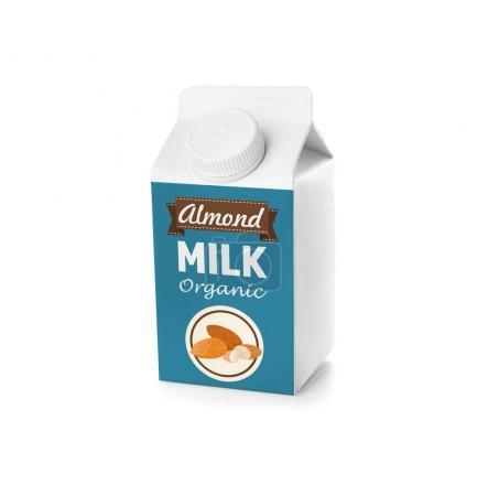 Pack of almond milk