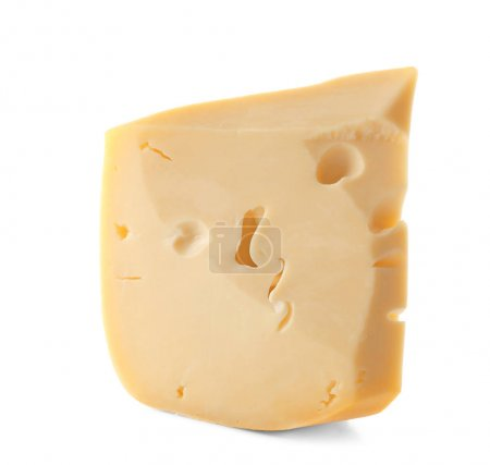 Piece of tasty cheese