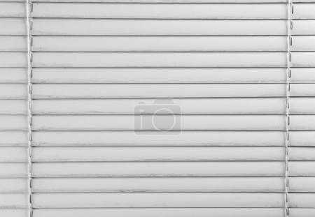 Dirty window blinds, closeup...