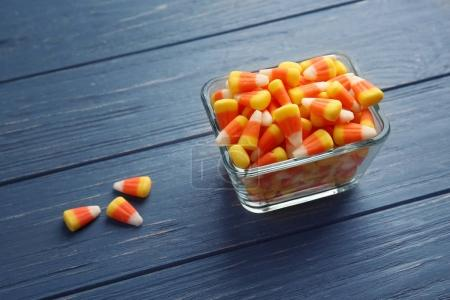 Colorful Halloween candy corns