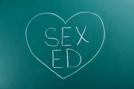 Words SEX ED
