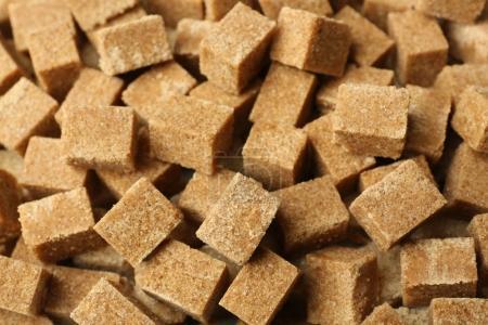 Brown granulated sugar