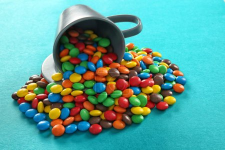 Delicious colorful candies