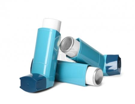 blue Asthma inhalers