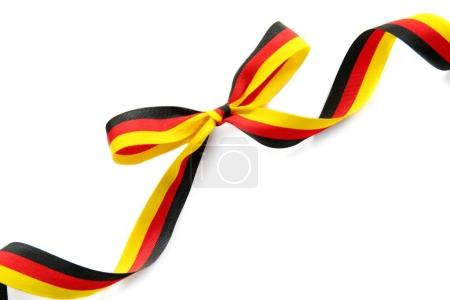 Ribbon in colors of German flag