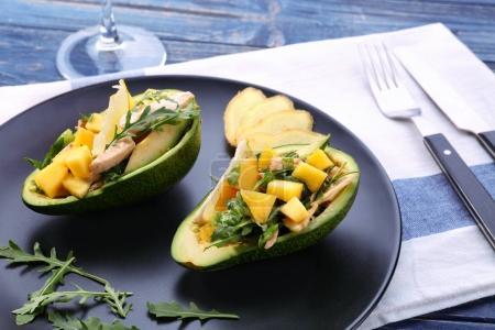 Fresh tasty chicken salad
