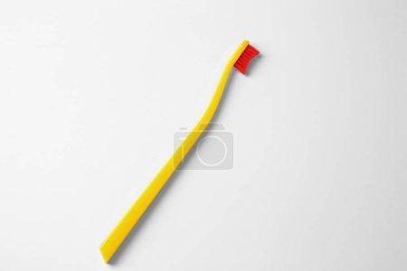 New plastic toothbrush