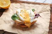 Tasty egg Benedict