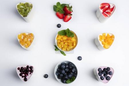 Automatic yogurt maker with fruits