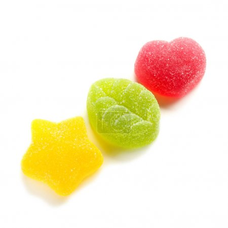 Tasty jelly candies