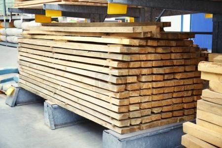 Many wooden planks