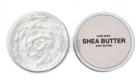 Jar of shea butter