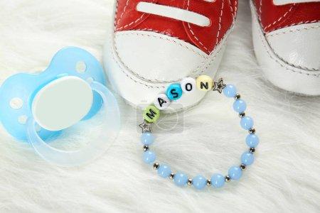 baby name bracelet