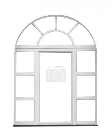 Window on white background