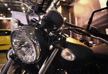 Bike exhibition in showroom