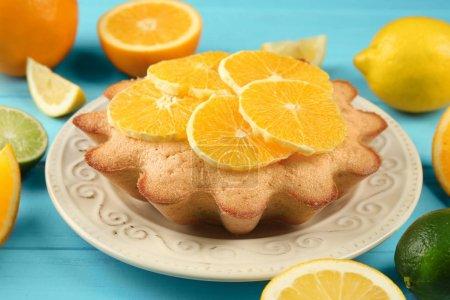 Delicious citrus cake