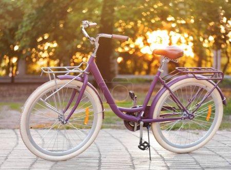 Modern beautiful bicycle