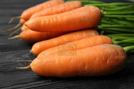 Tasty ripe carrots