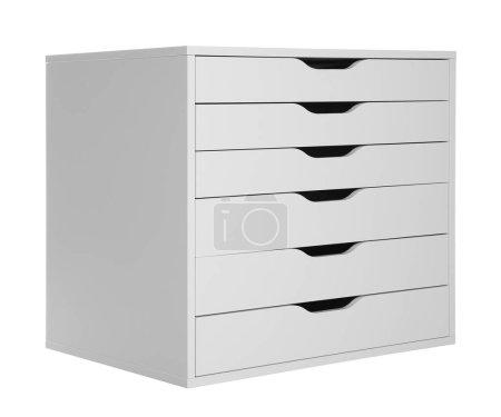 Photo for Modern wardrobe on white background - Royalty Free Image