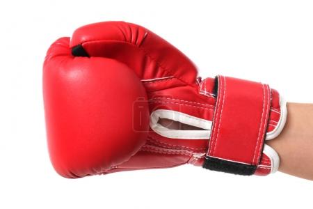 Man in boxing glove