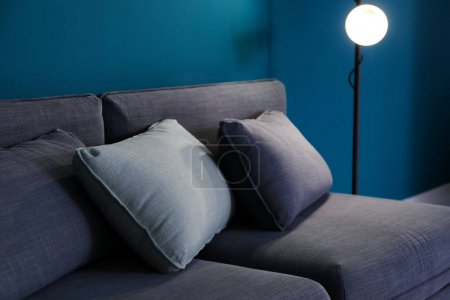 Photo for Comfortable sofa in living room - Royalty Free Image