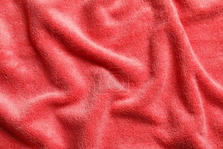 Soft clean terry towel