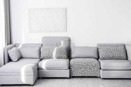 Photo for Comfortable sofa at light room - Royalty Free Image