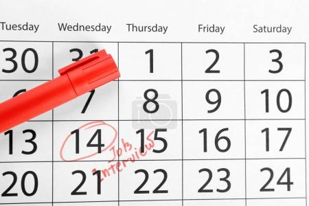 Color marker and calendar
