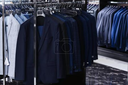 Photo for Stylish clothes at menswear store - Royalty Free Image