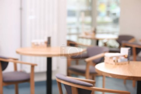 Photo for Blurred view of restaurant interior - Royalty Free Image